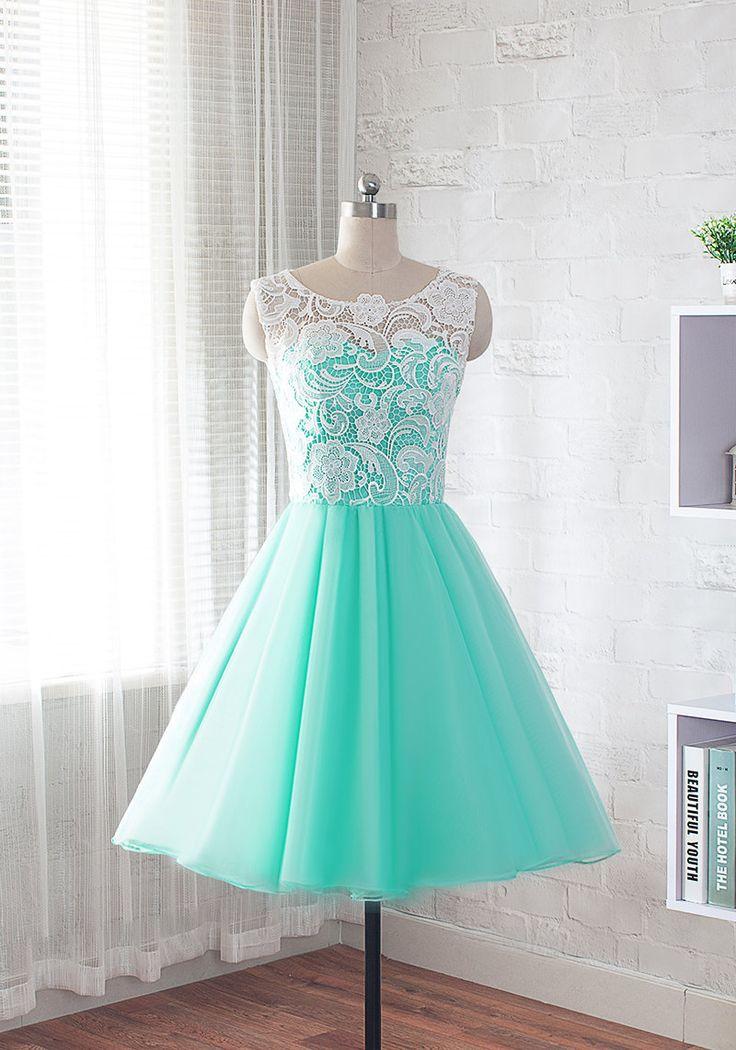 encaje vestido de fiesta vestido de noche corto vestido
