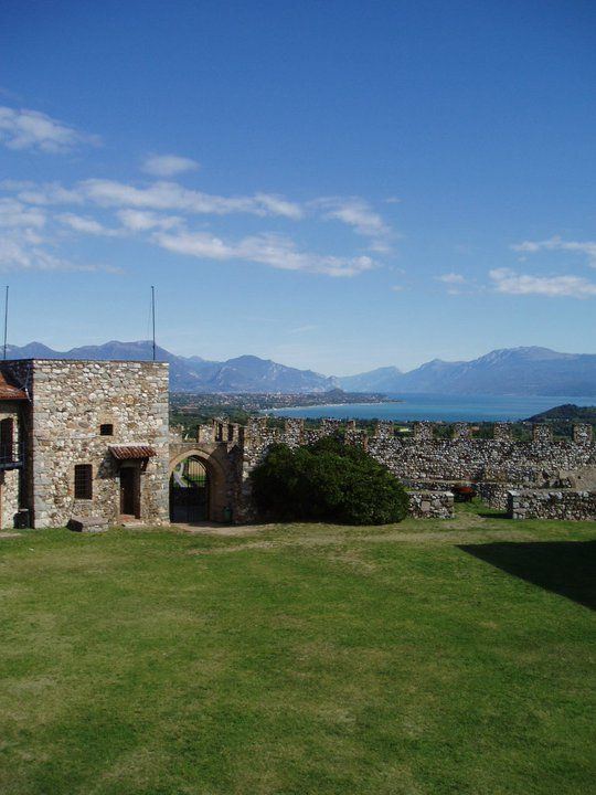Amazing lake views from Lonato Castle