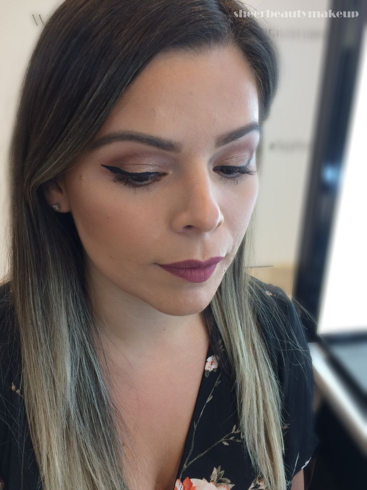 makeup look for my client