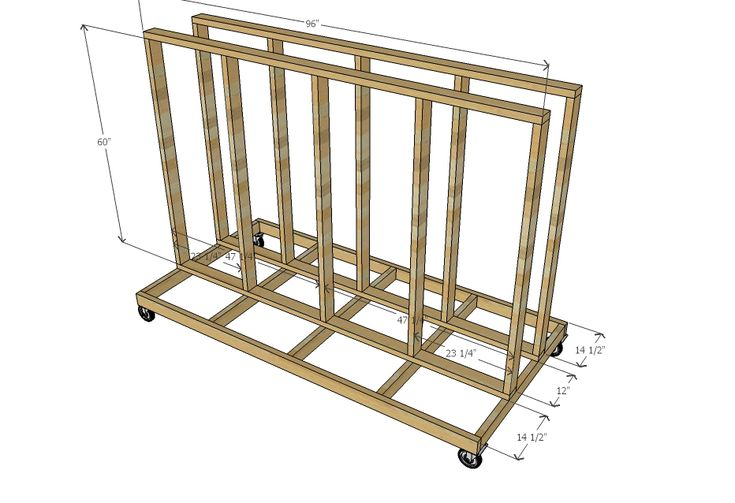 Free Lumber Rack Plans - WoodWorking Projects & Plans