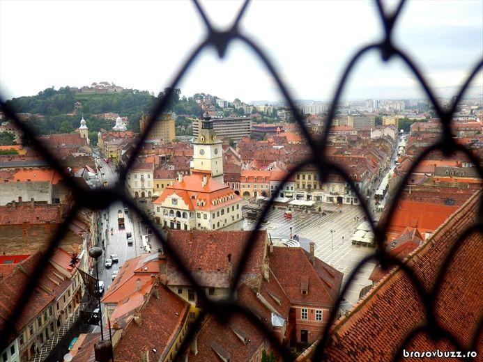 Lumea înălţimilor la Biserica Neagră: prezentare turn, clopote şi acoperiş [FOTO] Brasov Buzz