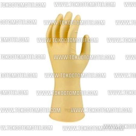 """Kode : 55003000719 Nama : Young2 8.5"""" X 16"""" Industrial Rubber Gloves Merk : Young2 Tipe : 8.5 x 16  Status :  Siap Berat Kirim : 1 kg Material : Karet"""