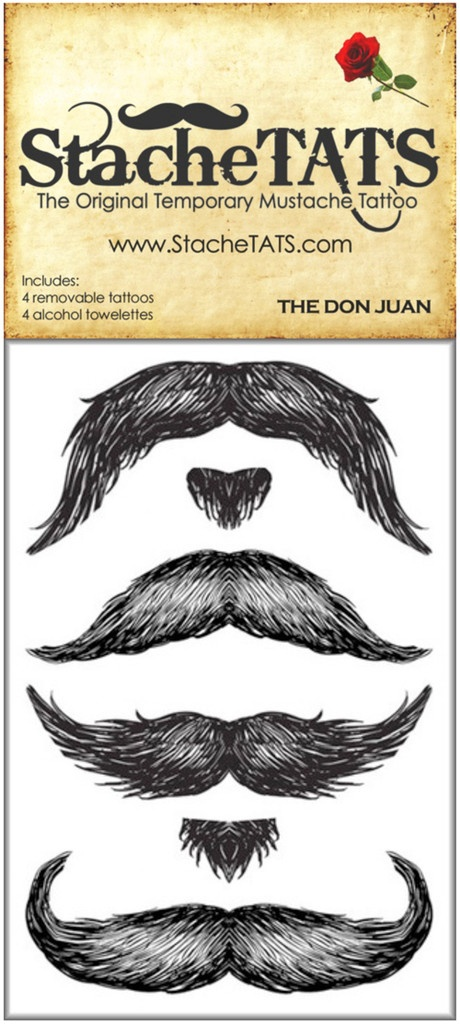 106 best mustache fun images on pinterest for Mustache temporary tattoos