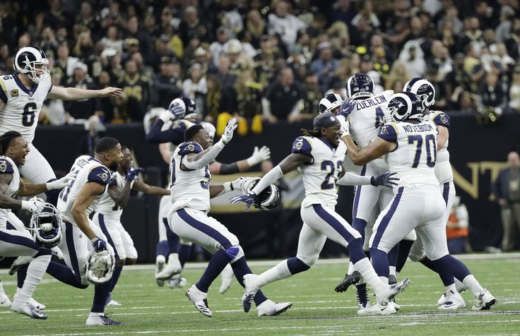 Rams go to Super Bowl LIII with a controversial OT win
