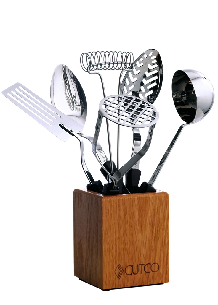 5 Pc. Kitchen Tool Set With Holder