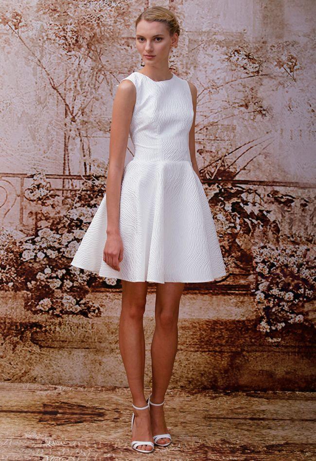 Robe mairie Monique Lhuillier  Wedding Dresses Fall 2014