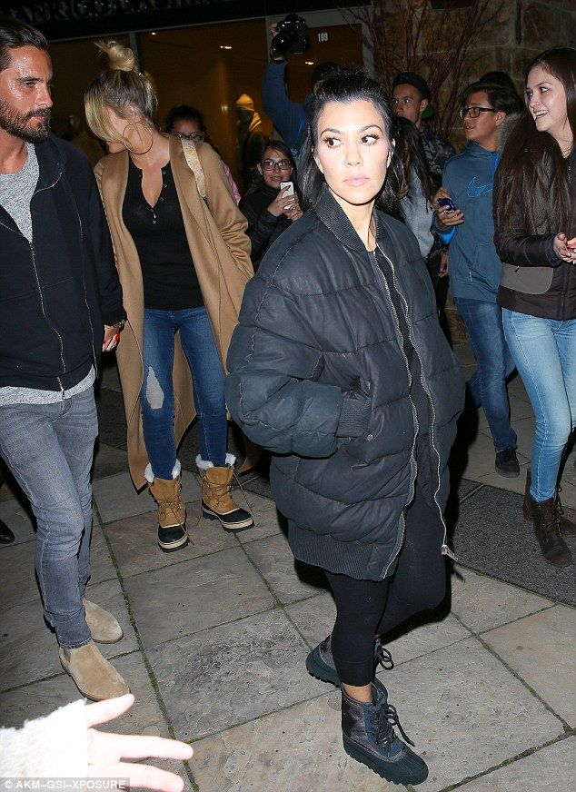 ... Adidas Yeezy Boost 950 - I Feel Like Pablo. See More. Dark side:  Kourtney looked fashionable as always in all black including puffer jacket,  top