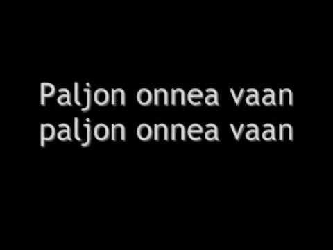 Tuuli - Paljon onnea vaan lyrics