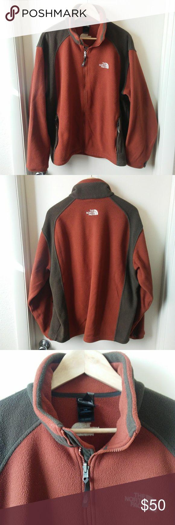 THE NORTH FACE Full-Zip Fleece Jacket The North Face full-zip fleece jacket. EUC. Has two zippered pockets in front. The North Face Jackets & Coats