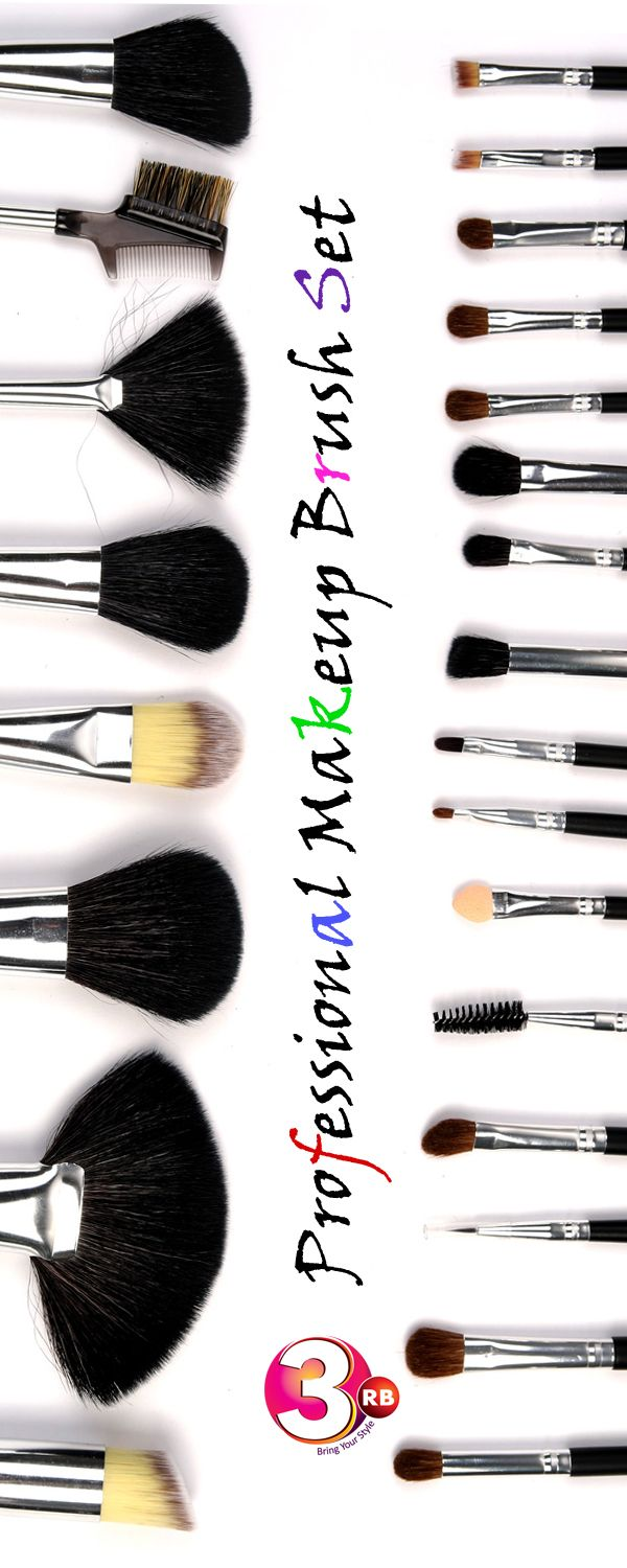 This Makeup Brush Set is unique because all 24 pieces have a specific purpose in your makeup process. Made of the highest grade materials and make it unique design of every brush, diverse selection of professional brushes.This Makeup cosmetic brush set will show your natural beauty and leave a flawless finish. Handmade brushes made of premium synthetic fiber materials provide an incredible touch and feel .