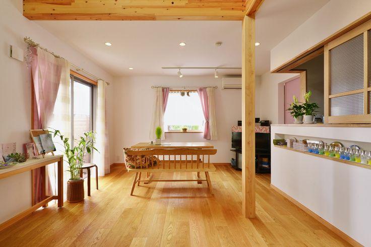 新築の事例|LDK|施工事例No.451 自然素材をつかって…ナチュラルでエコな暮らしを|スタイル工房