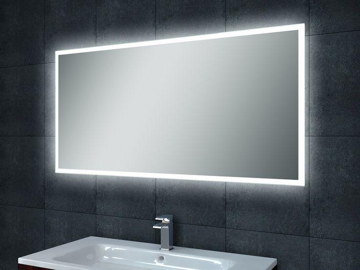 Frank&Co WB Quatro-Led condensvrije spiegel 70070x50 > Spiegels (m verlichting en/of radio) > Private Label Sanitair > Sanitair > Sanispecials.nl | Echt alles voor je badkamer, toilet & keuken! 190euro