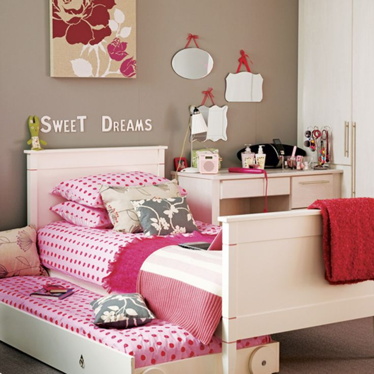 Bedroom, Cute Kids Bedroom Baby Nursery Stunning Brown With Ikea Girls Bedroom And Lovely Pink Sliding Bed For Kids Bedroom Inspirations Appealing 2014 Design Inspiration Ikea Kids Room: How To Design A Bedroom That Grows With Your Child