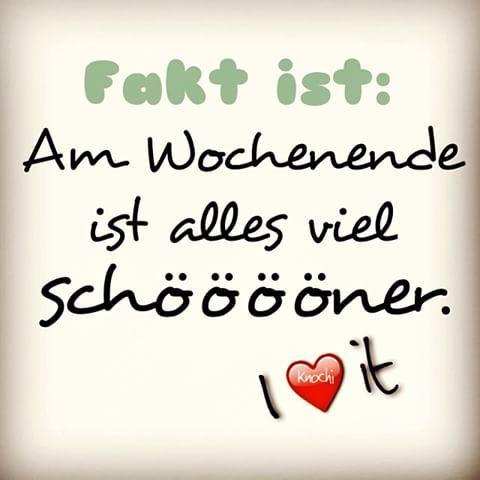 ✌️ SO IST ES...  Am #Wochenende ist #alles viel schöööööner  #enjoy it  #weekend #fun #spaß