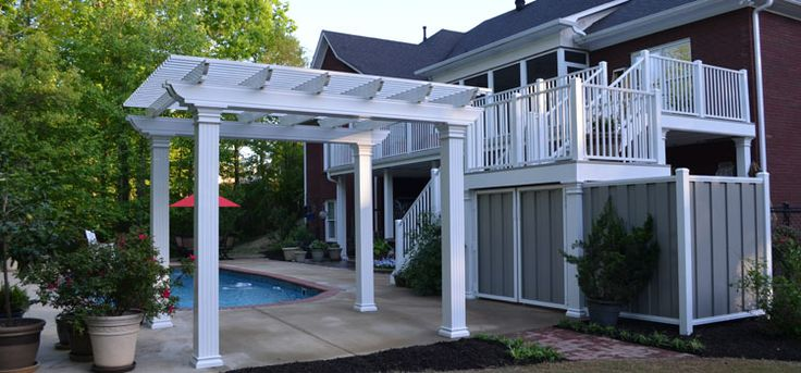 aluminum pergola. Black Bedroom Furniture Sets. Home Design Ideas