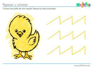 Más fichas infantiles aquí: http://www.edufichas.com/actividades-para-ninos-de-2-anos/  #educación #preescolar #preschool #kids #cartillas #actividades