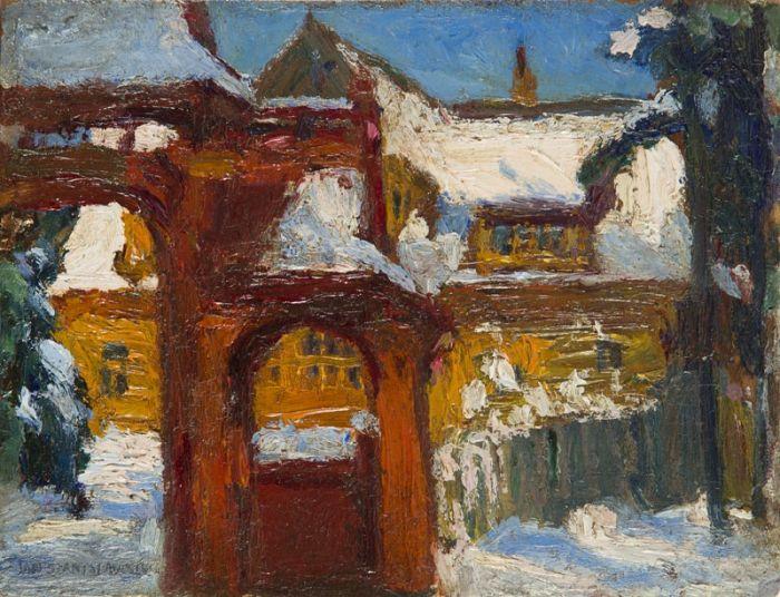 Jan Stanisławski - Zima w Zakopanem