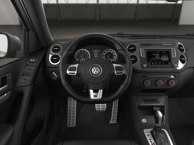 2016 VW Tiguan R line upgrade (larger infotainment screen)