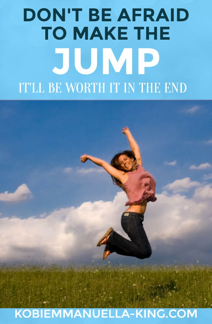 #Financial independence is the first step to developing the life you want to live. Don't be afraid to make the #jump – it'll be worth it in the end.