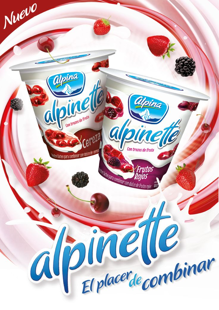 Alpina Yogurt Ad