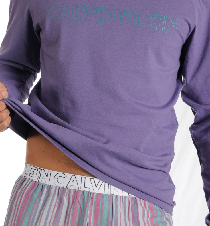 Pijama Hombre Calvin Klein Morado