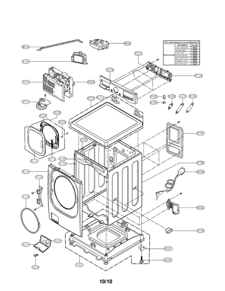 LG WASHER Parts | Model wm3875hvca | Sears PartsDirect