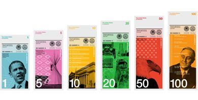 Dowling Duncan redesign the US bank notes