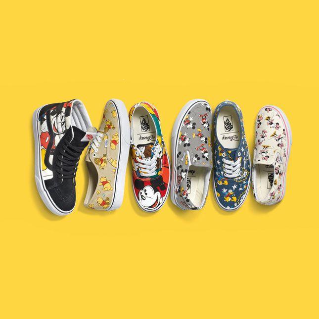 Vans Disney schoenen volwassenen