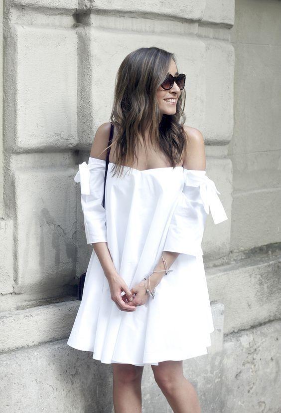 Outfits en color blanco con toques chic ideales para verano http://beautyandfashionideas.com/outfits-color-blanco-toques-chic-ideales-verano/