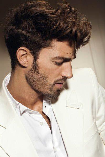 wavy hairstyles men