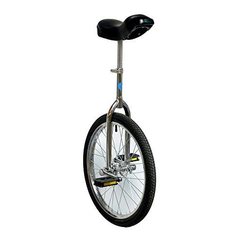 Monocycle PassePasse luxe design 18 pouces (45cm) Vélo une roue. Recommandé pour 11 à12 ans.: Facile à utiliser - roulez en quelques heures…