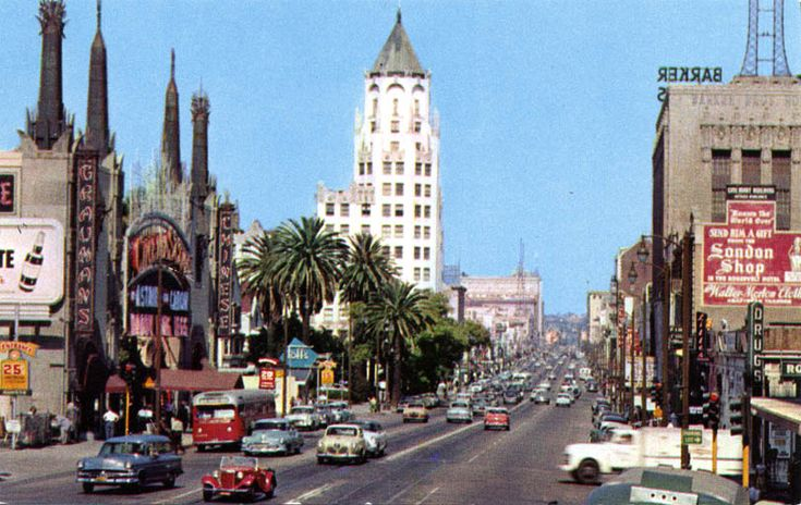 Hollywood Boulevard | Hollywood Blvd … Then and Now « The Kitty Packard Pictorial