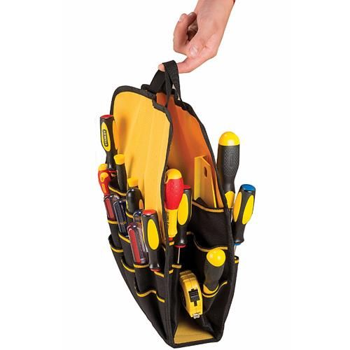 *CLICK TO ENLARGE* Stanley FatMax Tool Backpack with Removable Divider System (STA195611)