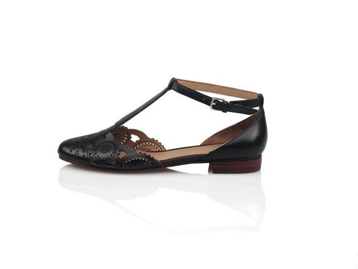 Zensu - Tess - Black Leather