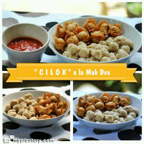 {Cilok} is a Chewy Ball | Simply Tale