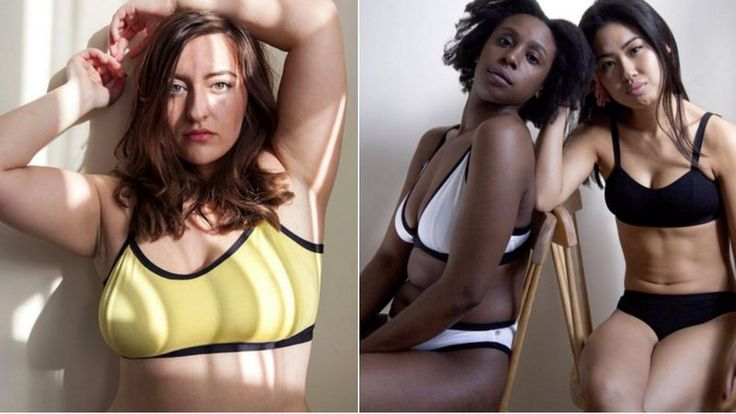 "Neon Moon, a U.K.-based lingerie brand, is taking a stance on the lack of body positive products produced by lingerie companies. Instead of using standard numbered sizes, the company is asking customers to measure their bust, waist and hips, as reported by Bustle. Those measurements then correspond with three size offerings: ""lovely,"" ""gorgeous"" and ""beautiful.""  #feminism #newcodes"