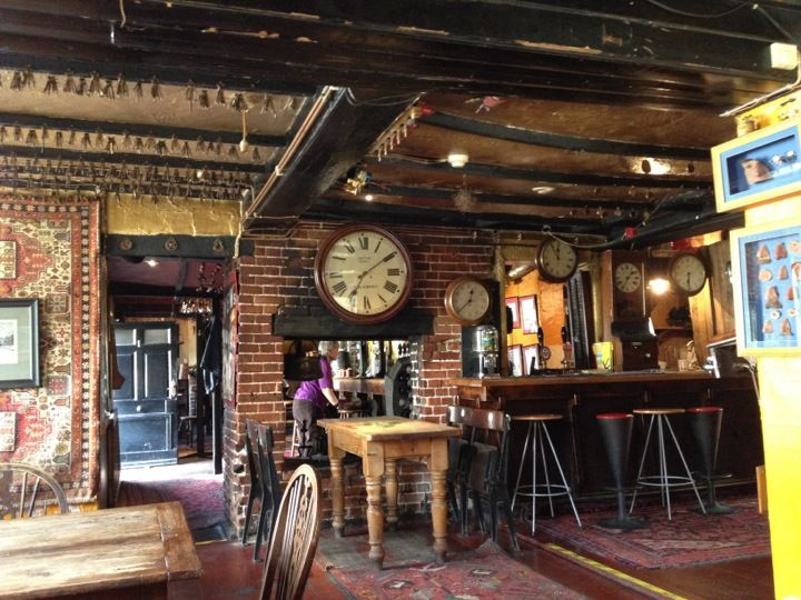 Splendidly Eccentric Décor At This Chatty Old Fashioned Pub Floor To Ceiling