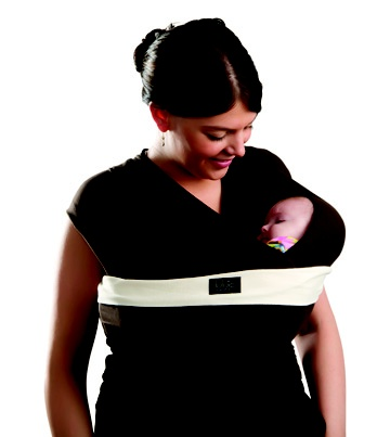 Lulujo baby wrap!  Best choice I ever made was wearing my youngest. She got to feel safe and secure while I was able to keep my hands free. This is my first choice when I go out, especially in crowds(keeps baby close and safe).
