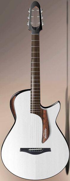 "Verdinero ""Saie"" acoustic electric Guitar --- https://www.pinterest.com/lardyfatboy/"