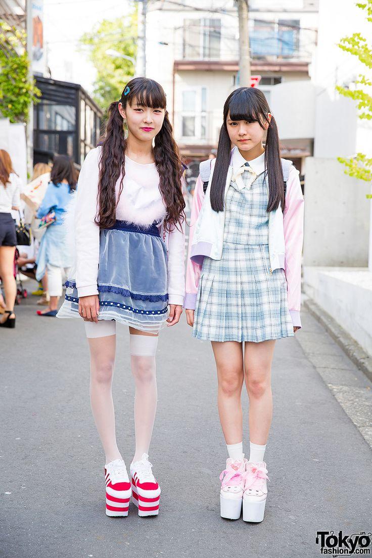 Harajuku Girls in Twin Tails