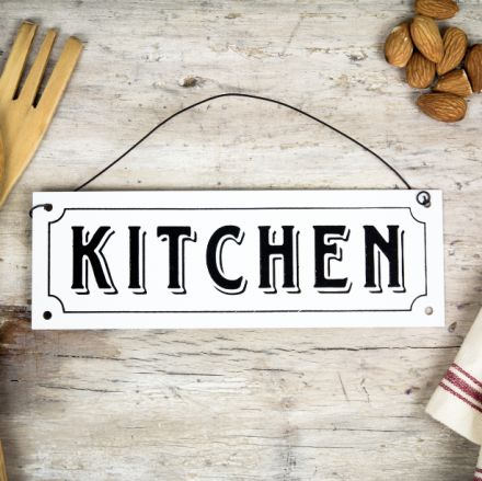 Placa metálica. Se vende en: www.mrwonderfulshop.es  #placa #kitchen #decoración