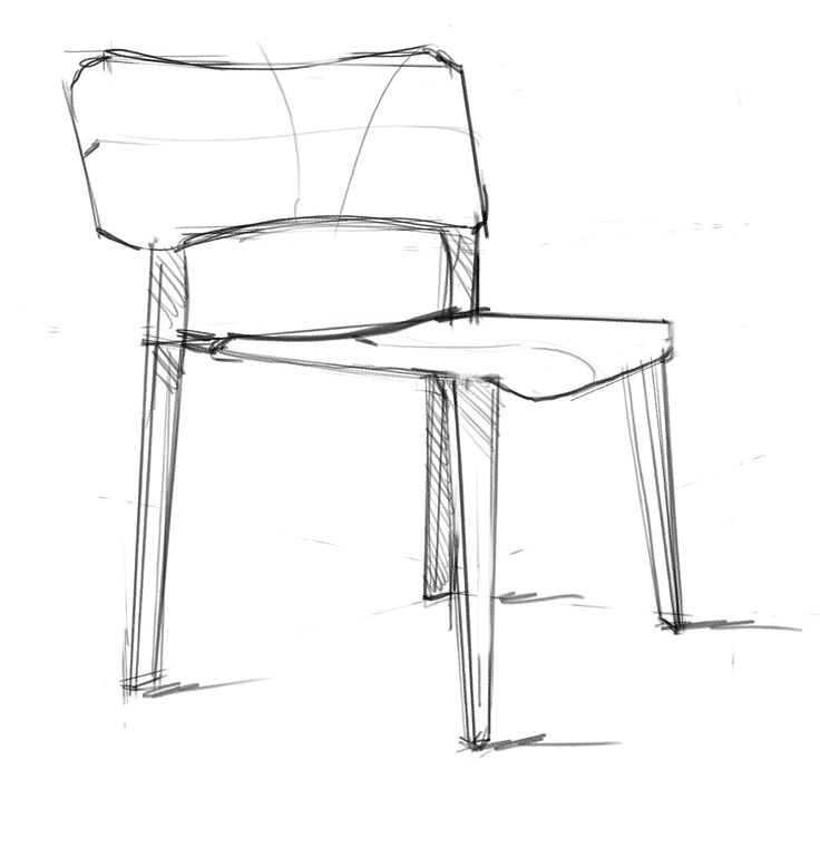 Interior Design Rendering How To Start Drawing A Chair