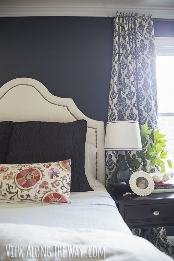 Navy Blue Bedroom Wall Art: 17 Best Ideas About Navy Curtains Bedroom On Pinterest
