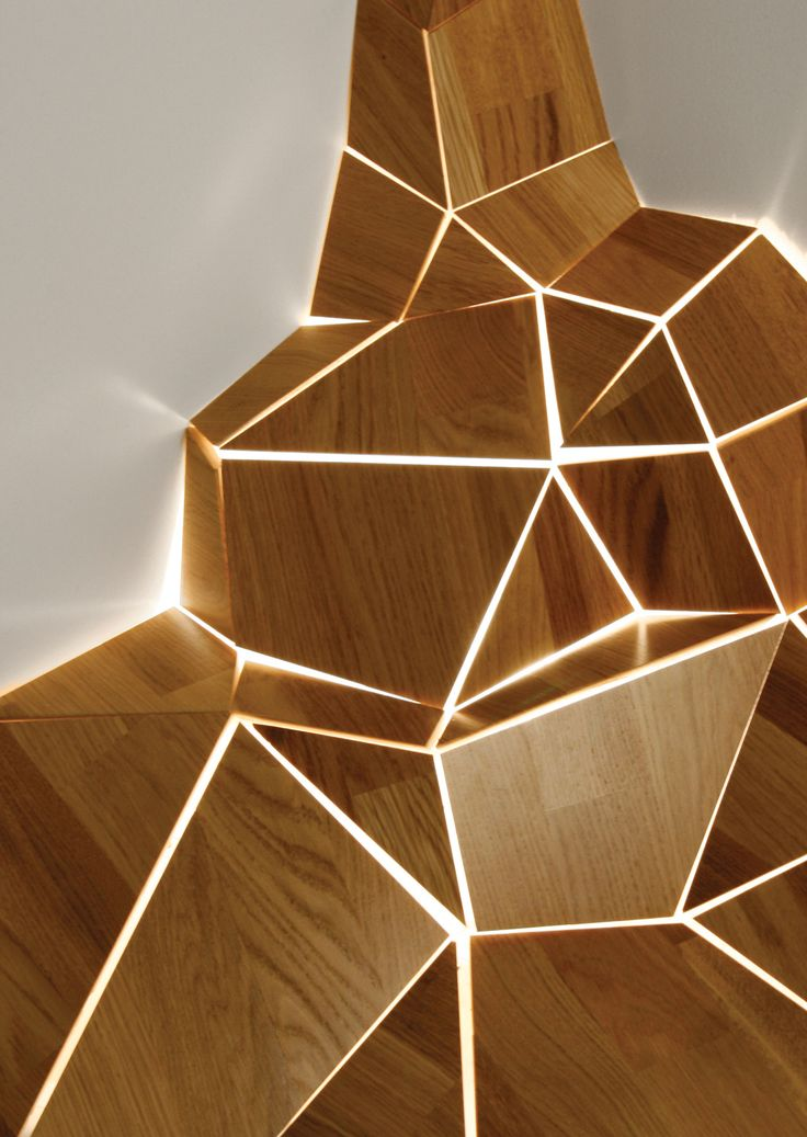 The 39 ny 39 light uses waste materials from wood flooring for Wood flooring manufacturers