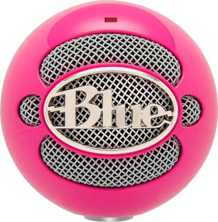 Blue Snowball Mic http://www.amazon.com/Blue-Microphones-Snowball-Microphone-Pink/dp/B00ELNL72W/ref=sr_1_2?ie=UTF8&qid=1412101111&sr=8-2&keywords=blue+microphones+pink