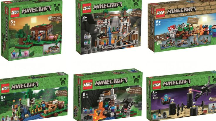 These new Lego Minecraft sets look decidedly more 'Lego' than ever before Release in Nov. 2014