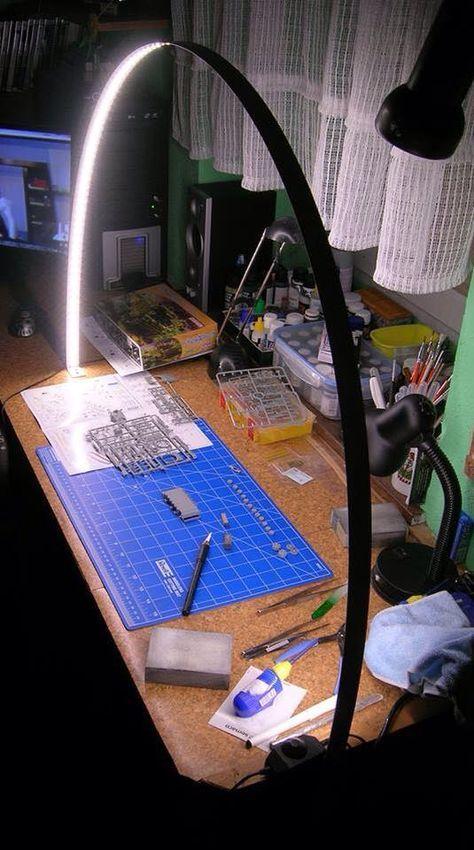 Büro / Arbeitszimmer Lampe rund