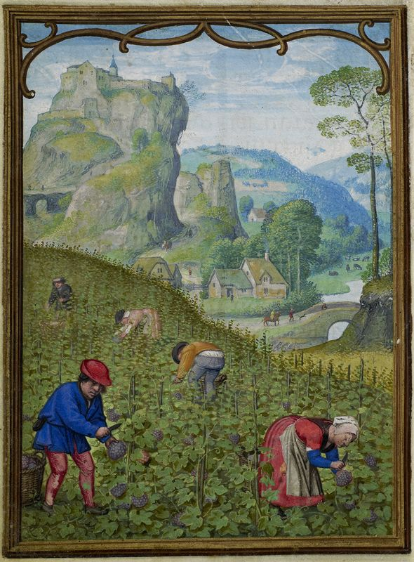 October 1 - Hennessy Book of Hours - miniaturist: Simon Benning - Flanders, 1530-1540 - Bruxelles, Bibliothèque royale Albert Ier, ms. II 158