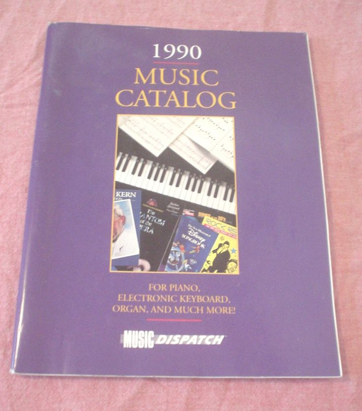 Vintage 1990 Music Catalog for Piano, Electronic Keyboard, Organ and Much More Music Dispatch Beatles Broadway Fake Muppet Soundtracks Solos by HerOptionsforYou on Etsy