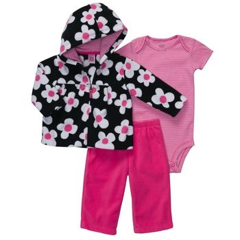 Carters Microfleece Set